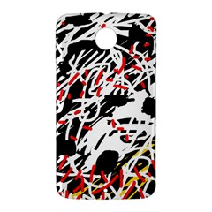 Colorful chaos by Moma Nexus 6 Case (White)