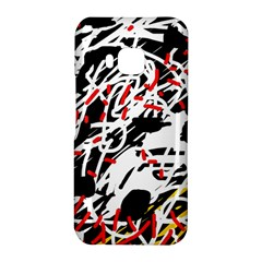 Colorful chaos by Moma HTC One M9 Hardshell Case
