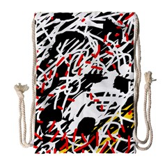 Colorful chaos by Moma Drawstring Bag (Large)