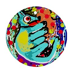 Abstract animal Ornament (Round)