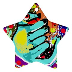 Abstract animal Ornament (Star)