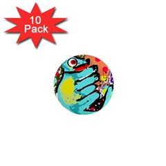 Abstract animal 1  Mini Magnet (10 pack)