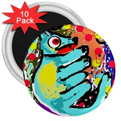 Abstract animal 3  Magnets (10 pack)