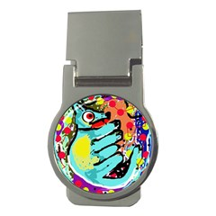 Abstract animal Money Clips (Round)
