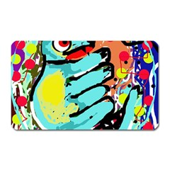 Abstract animal Magnet (Rectangular)
