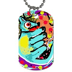 Abstract animal Dog Tag (Two Sides)