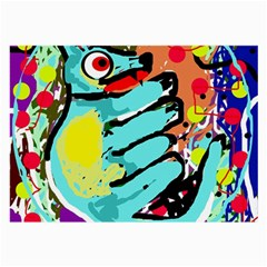 Abstract animal Large Glasses Cloth
