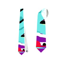 Abstract animal Neckties (Two Side)