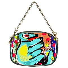 Abstract animal Chain Purses (Two Sides)