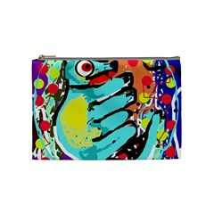 Abstract animal Cosmetic Bag (Medium)