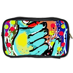 Abstract animal Toiletries Bags 2-Side