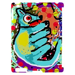 Abstract animal Apple iPad 2 Hardshell Case (Compatible with Smart Cover)