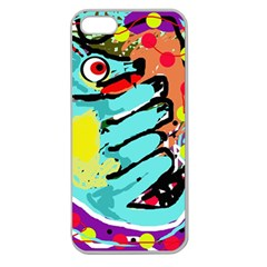Abstract animal Apple Seamless iPhone 5 Case (Clear)
