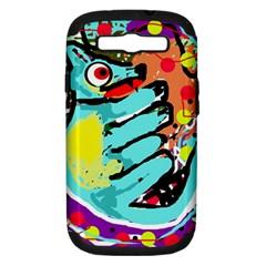 Abstract animal Samsung Galaxy S III Hardshell Case (PC+Silicone)