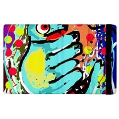 Abstract animal Apple iPad 2 Flip Case