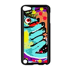Abstract animal Apple iPod Touch 5 Case (Black)