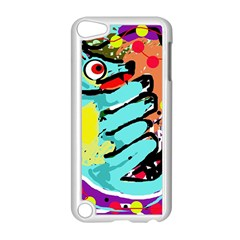 Abstract animal Apple iPod Touch 5 Case (White)