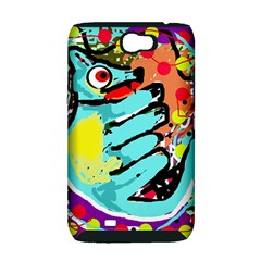 Abstract animal Samsung Galaxy Note 2 Hardshell Case (PC+Silicone)