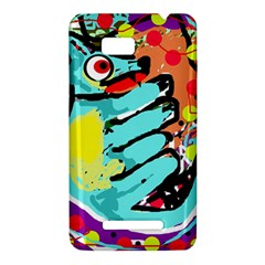Abstract animal HTC One SU T528W Hardshell Case