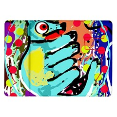 Abstract animal Samsung Galaxy Tab 10.1  P7500 Flip Case