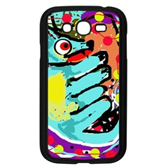 Abstract animal Samsung Galaxy Grand DUOS I9082 Case (Black)