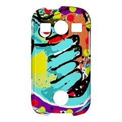 Abstract animal Samsung Galaxy S7710 Xcover 2 Hardshell Case