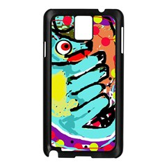 Abstract animal Samsung Galaxy Note 3 N9005 Case (Black)