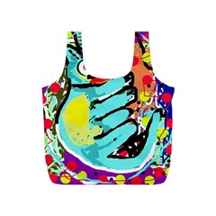 Abstract animal Full Print Recycle Bags (S)