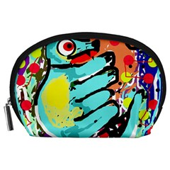 Abstract animal Accessory Pouches (Large)