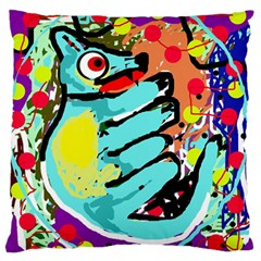Abstract animal Large Flano Cushion Case (Two Sides)