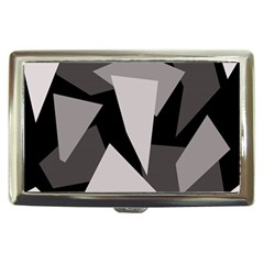Simple gray abstraction Cigarette Money Cases