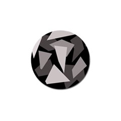 Simple gray abstraction Golf Ball Marker (4 pack)