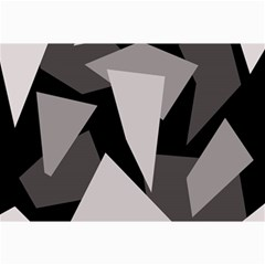 Simple gray abstraction Collage Prints