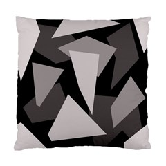 Simple gray abstraction Standard Cushion Case (One Side)