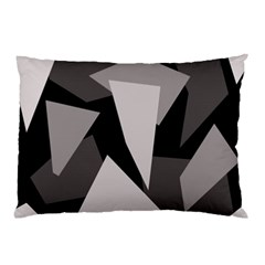 Simple gray abstraction Pillow Case