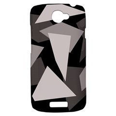 Simple gray abstraction HTC One S Hardshell Case