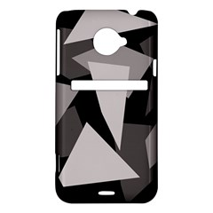 Simple gray abstraction HTC Evo 4G LTE Hardshell Case
