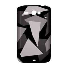 Simple gray abstraction HTC ChaCha / HTC Status Hardshell Case