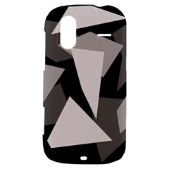 Simple gray abstraction HTC Amaze 4G Hardshell Case