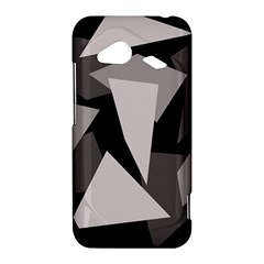Simple gray abstraction HTC Droid Incredible 4G LTE Hardshell Case
