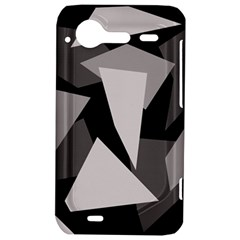 Simple gray abstraction HTC Incredible S Hardshell Case