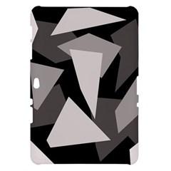 Simple gray abstraction Samsung Galaxy Tab 10.1  P7500 Hardshell Case