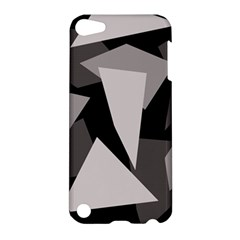 Simple gray abstraction Apple iPod Touch 5 Hardshell Case