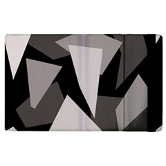 Simple gray abstraction Apple iPad 3/4 Flip Case