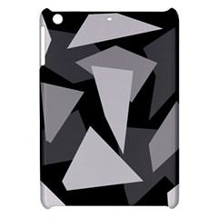 Simple gray abstraction Apple iPad Mini Hardshell Case