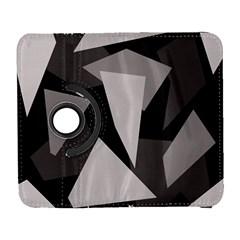 Simple gray abstraction Samsung Galaxy S  III Flip 360 Case