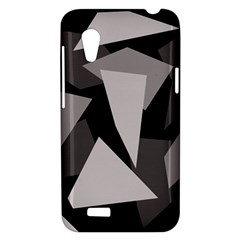 Simple gray abstraction HTC Desire VT (T328T) Hardshell Case