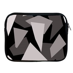 Simple gray abstraction Apple iPad 2/3/4 Zipper Cases
