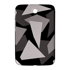 Simple gray abstraction Samsung Galaxy Note 8.0 N5100 Hardshell Case