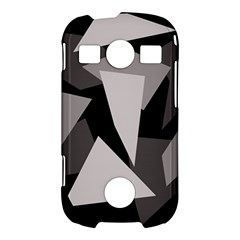 Simple gray abstraction Samsung Galaxy S7710 Xcover 2 Hardshell Case